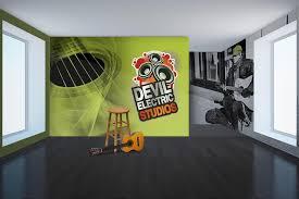 vinyl wall murals create visual impact