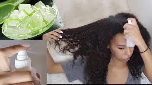aloe vera moisturizing spray for hair
