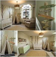 Creative Forest Themed Kids Bedroom And Nursery Decor Ideas Woodland Theme Bedroom Themed Kids Room Baby Boy Rooms