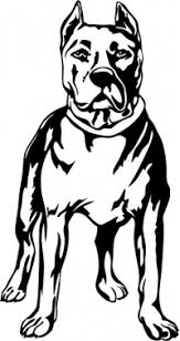 Pitbull Decals Pitbull Stickers Any Size Color