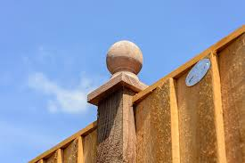 Ball Finial Timber Post Cap Grange Fencing