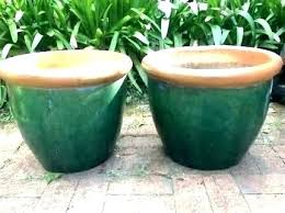 clay pots 2 large garden on events food