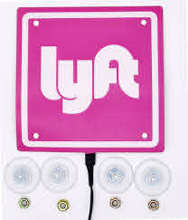 12 12 Best Size Lyft Light Lyft Led Light 2020 New Logo Sticker Decal Glow Decal Accessories Removable Rideshare Glowing Sign For Car Lyft Usb Interface Power Cord Ridesharegifts