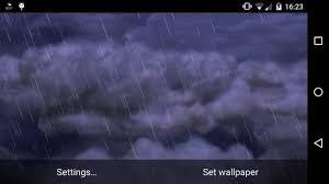 thunderstorm live wallpaper you