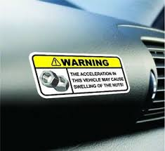 Funny Swelling Nut Warning Sticker Set Vinyl Decal Jdm Car Decal Dope For Honda Ebay