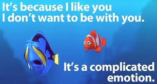 finding nemo quote it s a complicated emotion dory