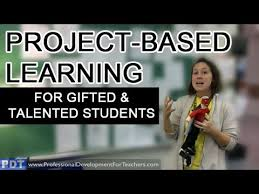 project based learning for gifted