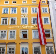 salzburg mozart s birthplace the