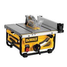 Dewalt Compact Table Saw 10 15 A Dwe7480 Rona