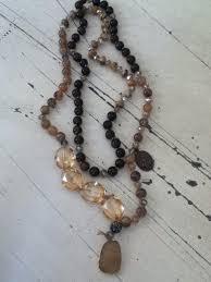 Unique and eclectic pieces Maude Graham @Say La Vie   Unique jewelry,  Beaded necklace, Hip clothes