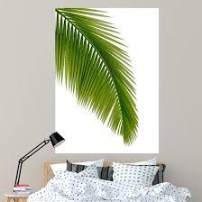 Green Palm Tree Wall Decal Wallmonkeys Com