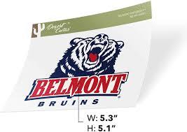 Amazon Com Belmont University Bruins Ncaa Vinyl Decal Laptop Water Bottle Car Scrapbook Sticker 00001 Arts Crafts Sewing