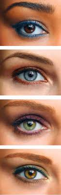 makeup for your eye colour suggestions