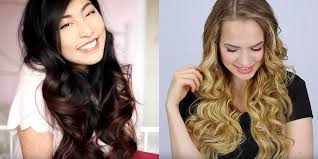 how to curl long hair quick and easy