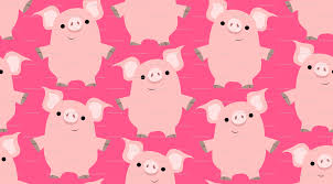 wallpapers pig cartoon wallpaper cave