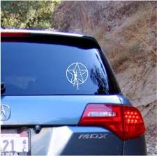 Rush Star Man Die Cut Vinyl Decal Sticker Texas Die Cuts