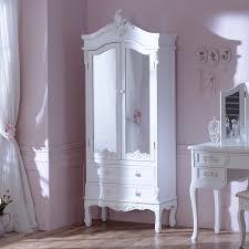 antique white mirrored closet pays
