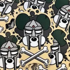 Mf Doom Danger Doom Vinyl Sticker Decal