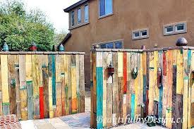 Simple Amazing Do It Yourself Pallet Wall Wood Pallet Fence Fence Design Diy Fence