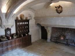 massive fireplace mounted boars head
