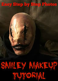 smiley face makeup our