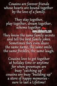 quotes about cousins like sisters quotes