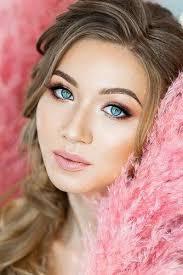 30 wedding makeup ideas for blue eyes