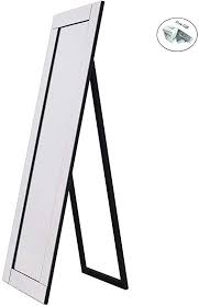 cwy silver full length wooden frame
