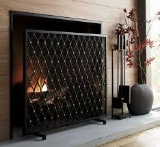 corbett bronze fireplace screen home