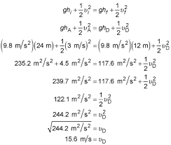 mechanical energy in physics problems