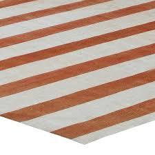 vintage dhurrie rug with stripes at 1stdibs