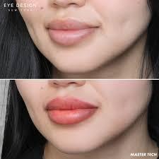 lip tattoo flawless lipstick color