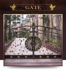 china unique design small garden gates