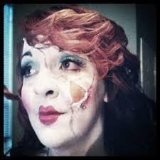 broken porcelain doll makeup done by me
