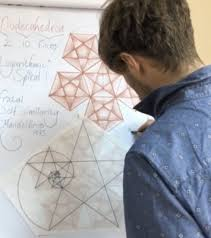 Golden Spiral & dodecahedron | Art of Islamic Pattern