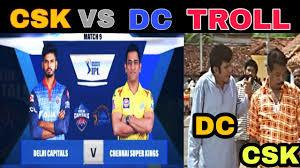 CSK VS DC IPL 2020 TROLL TAMIL ...
