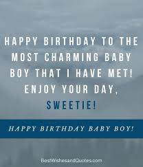happy birthday baby boy happy birthday baby baby quotes baby