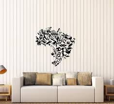 Vinyl Wall Decal South America Brazil Map Culture Soccer Carnival Stic Wallstickers4you