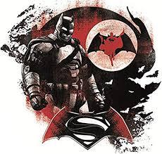 Amazon Com 5 Inch Batman V Superman Decal Vs Versus Bat Man Dark Knight Dc Comics Repositionable Removable Peel Self Stick Wall Sticker Art Home Decor Decoration For Walls Laptop Yeti Tumbler 5