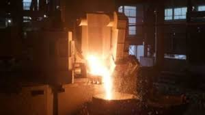 induction furnace and air furnace