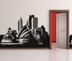 Vinyl Wall Decal Sticker Sydney Buildings Osaa492s Etsy Vinyl Wall Decals Wall Decal Sticker Wall Decals