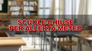 Maltempo: scuole chiuse oggi 02 febbraio 2019. Comuni interessati ...
