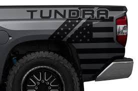 Toyota Tundra 2014 2016 Custom Vinyl Decal Kit Tundra Usa Factory Crafts