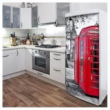London Phone Booth Fridge Wall Decal Target