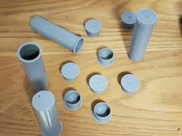 25 White Pool Fence Deck Caps For One Inch Sleeves For Sale Online Ebay