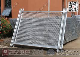 China Temporary Construction Fencing Factory 2 1x2 4 Temp Fence Panels Australia Standard
