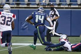 Let's talk about Seahawks star receiver DK Metcalf and route trees - Field  Gulls