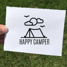 Vinyl Decal Happy Camper The Local Store
