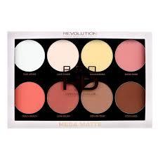 makeup revolution makeup palette