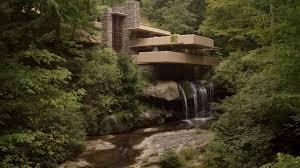 la maison sur la cascade fallingwater